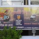 bar advert