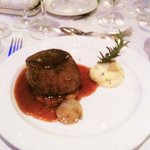 Mains: Fillet of Beef (rare)