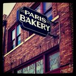 View of Paris Bakery sign
