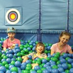 Fun in the ball pool with friends