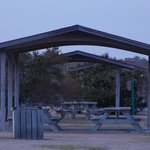 Picnic areas at the park