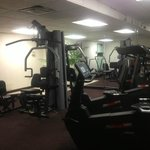 The hotels gym