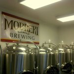 Our brew room! Come in and try something from our list of great beer!
