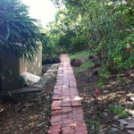 Path to standard room - back of property