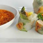 Fresh vietnamese springroll