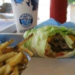Lettuce Wrapped Elevation Burger (gluten free)