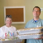 Donated food to Food Gatherers