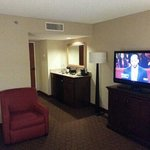 Living room of our suite.