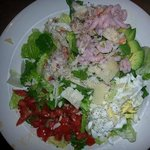 Seafood Chop Salad **GF A romaine lettuce salad with Dungeness crab, bay shrimp, hard boiled egg