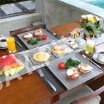 Ziva Villa Breakfast