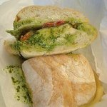 chicken pesto on ciabatta