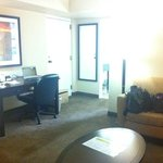 Junior Suite - living area, good work station.