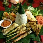 "Our ""Simply Balinese Menu"""