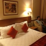 Our double room in Lotus Hotel