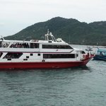 The Chumpon - Koh Tao ferry is fast, comfortable and fun for all ages.