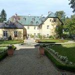 Schloss mit Gaststätte
