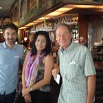 The jazz resto and bar with owner  Bob & Son Avi