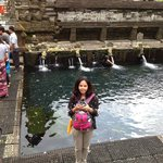 Bathing in the healing waters of Tirta Empul temple