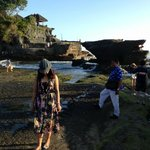 tanah lot, temple in bali