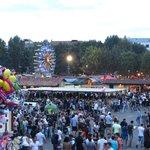 La piazza del festival