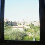 finestra della sala colazioni