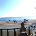 Vue panoramique du balcon !!