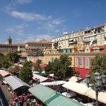 """Cours Saleya """"place du marché"""""""