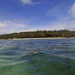 Vorgelagerte Insel