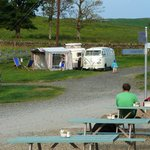 View from Coffee Shed to Camper Van area