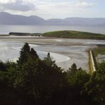 View from our window at Mulranny Park hotel Sept 2013