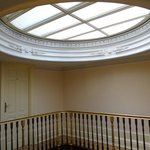 Hotel top floor corridor