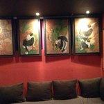 pub n art gallery concept
