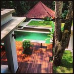 Poolview at Villa from Balcony