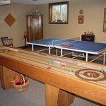 Spacious games room