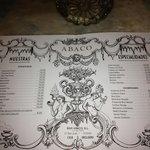 Abaco's price list