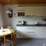 Küche und Essplatz Top 1