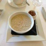 Selbst das Porridge ist hier vom Feinsten