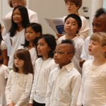 The diversity of our congregation is evident in our youth choir.