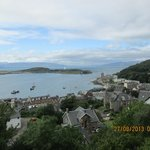The right view of Oban