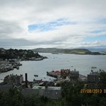 The left view of Oban
