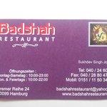 Badshah Imbiss Sweet Center Foto