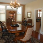 Spacious Dining Room can seat up to 12