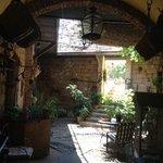 bonito patio interior