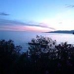 Sunset over Acquafredda