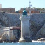 Entrée dans le port de Marseille avec la navette maritime