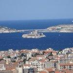 Vue sur les  îles (Marseille)