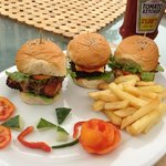 The best mini burgers in town