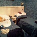 habitación muy comoda