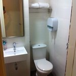 toilet isclean. towel is provided. but body soap & shampoo is given as a mix