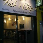 Martin's Fish And Chips shop